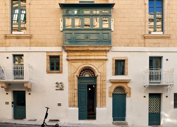 palazzo, entrance, facade